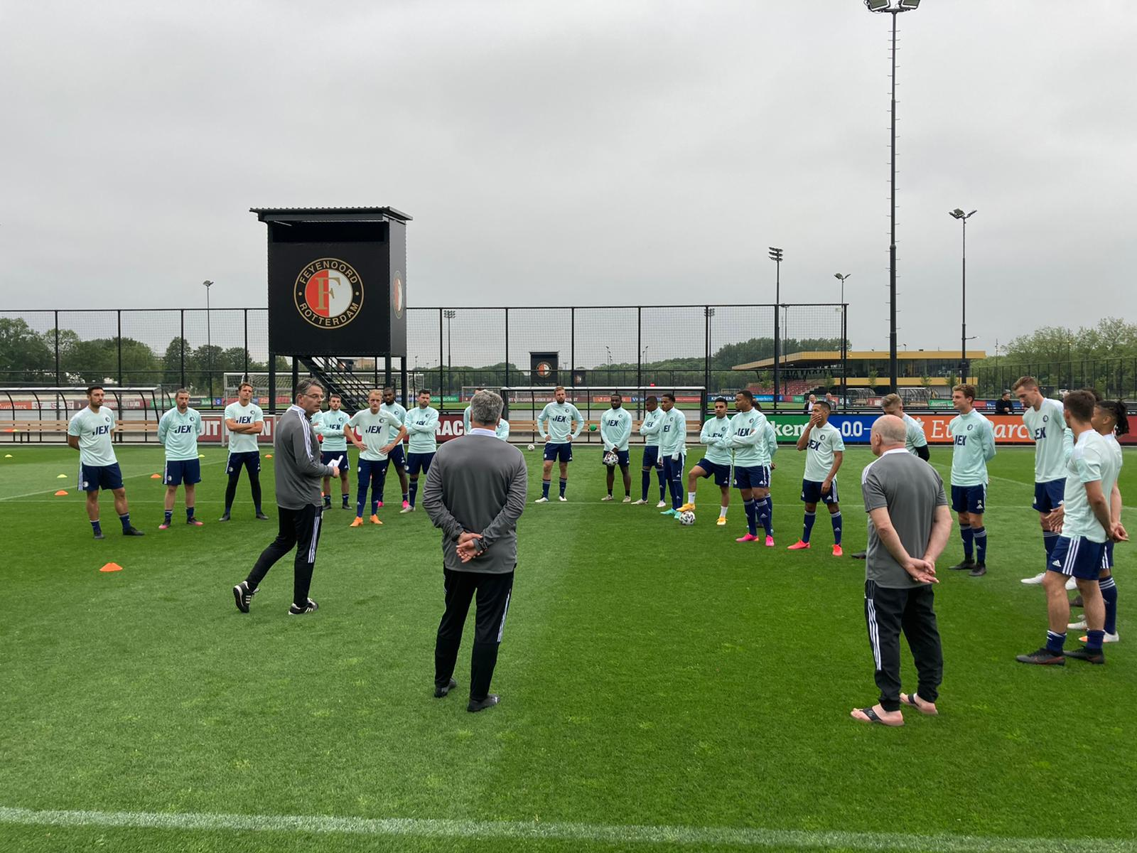 Eerste training voor SC Feyenoord