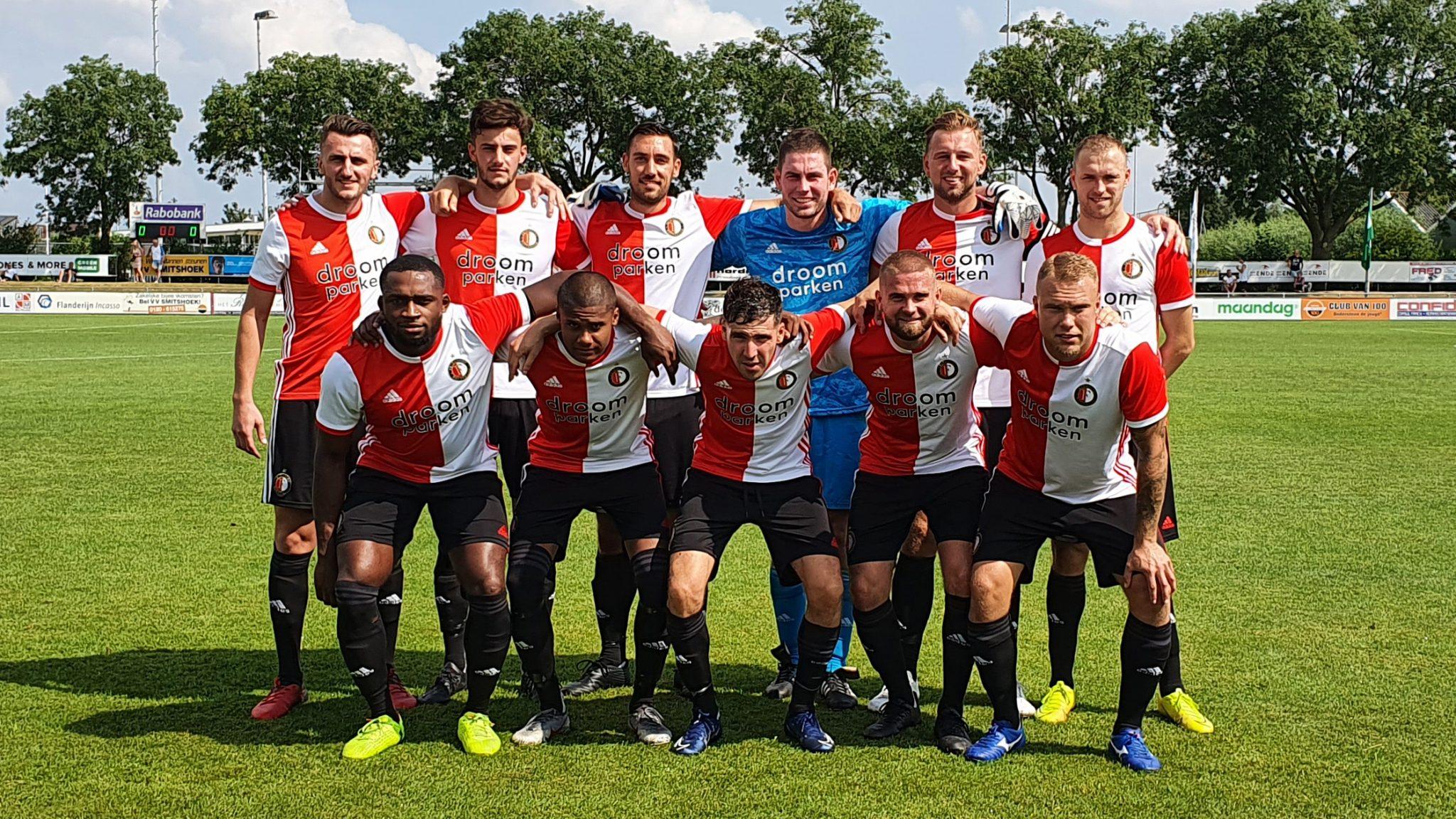 SC Feyenoord wint Smitshoek-toernooi