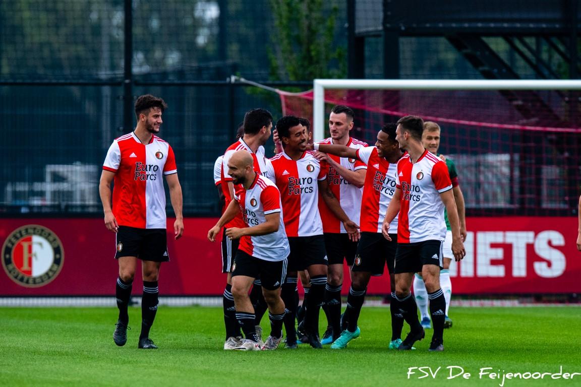 Sportclub oefent tegen Noordwijk