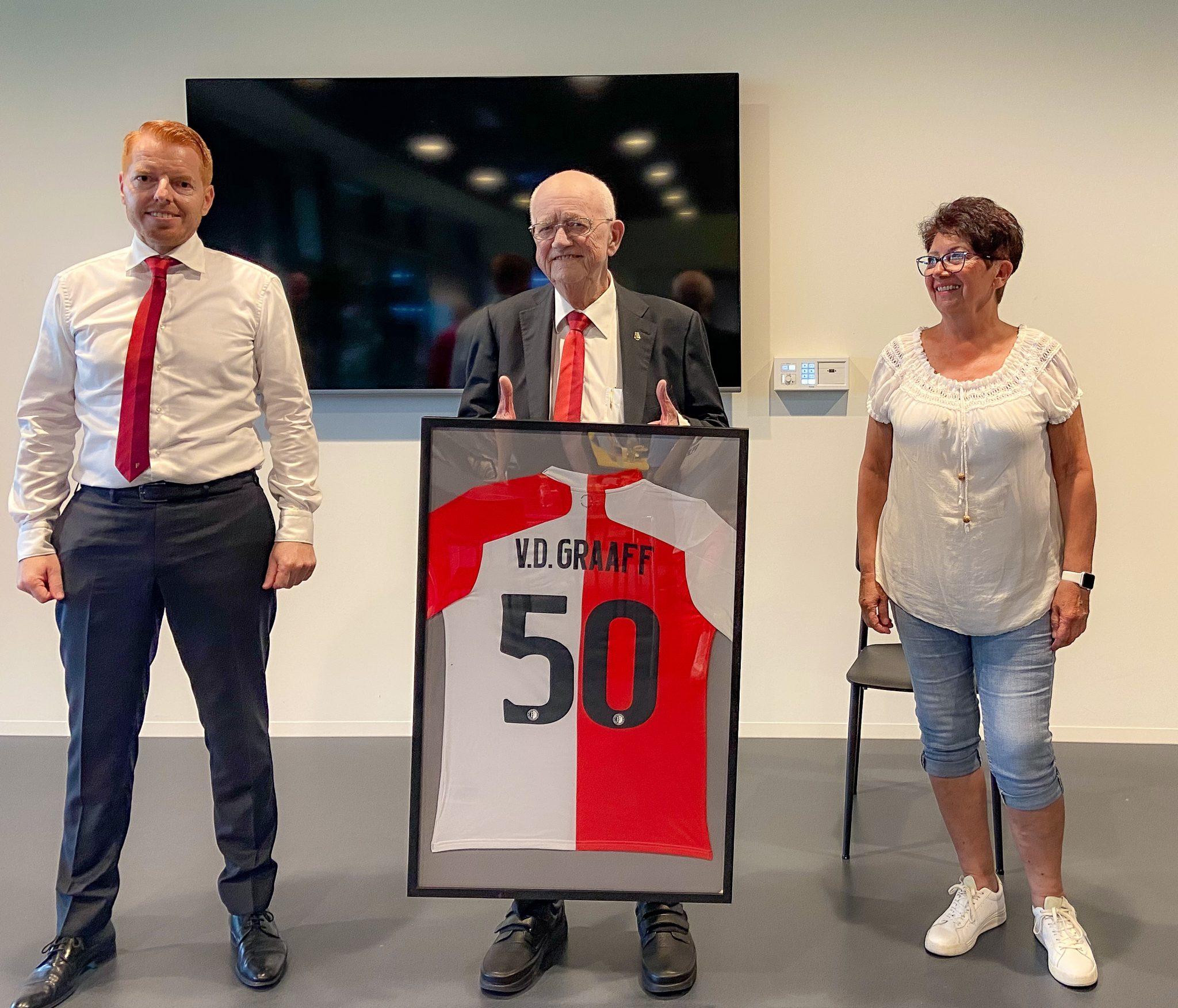 Herman van der Graaff 50 jaar vrijwilliger